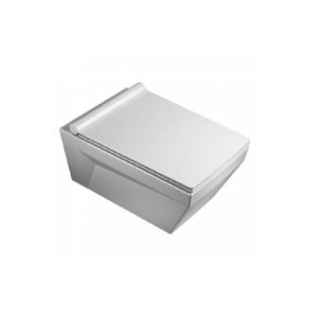 Catalano Star Miska WC wisząca 55x34 cm i deska wolnoopadająca, biała 1VSST00+5ZSSTP00