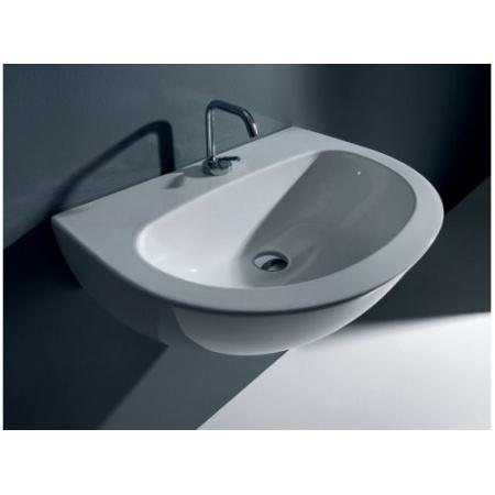 Kerasan Aquatech Umywalka wisząca 70x52x30 cm, biała 3740