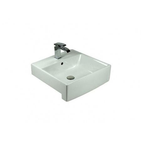 Villeroy & Boch Pure Basic Umywalka klasyczna 50x50 cm - Weiss Alpin (71125001)