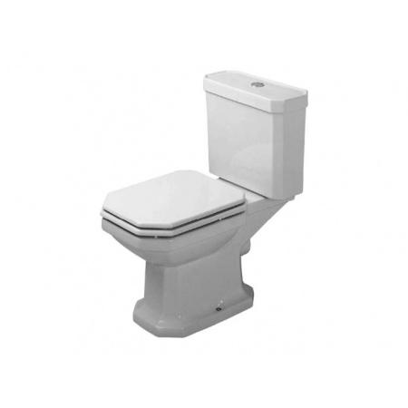 Duravit 1930 Toaleta WC kompaktowa 66,5x35,5 cm odpływ poziomy, biała z powłoką WonderGliss 02270900001