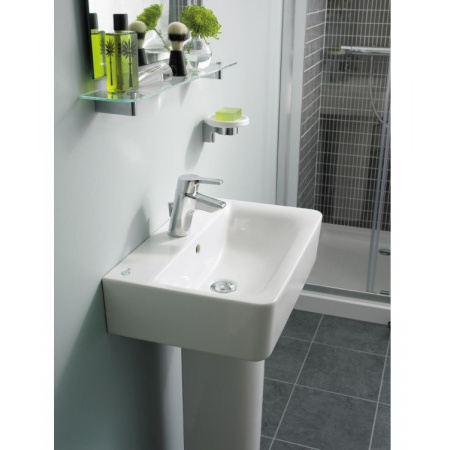 Ideal Standard Connect Umywalka 60x46 cm bez otworu na baterię, biała E810101