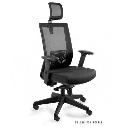 Unique Nez Fotel biurowy, czarny W-879K-MESH31