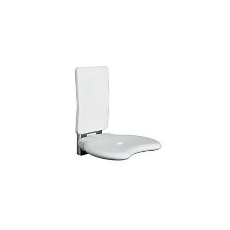 Koło siedzisko prysznicowe LEHNEN EVOLUTION uchylne z oparciem (L32005001)