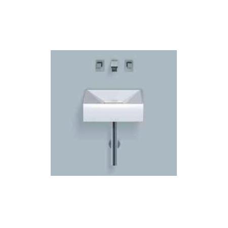 Alape umywalka emaliowana WT.KF400 biała z powłoką Easy-Care wymiary 125 x 400 x 400 nr kat. 4110000400