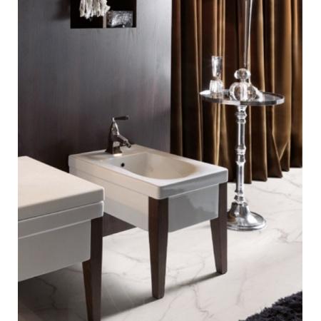 Kerasan Bentley Drewniane nogi do WC lub bidetu, darkened ash 917047