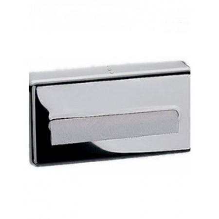 Emco System 2 Pojemnik na chusteczki papierowe 27 cm, chrom 355700101