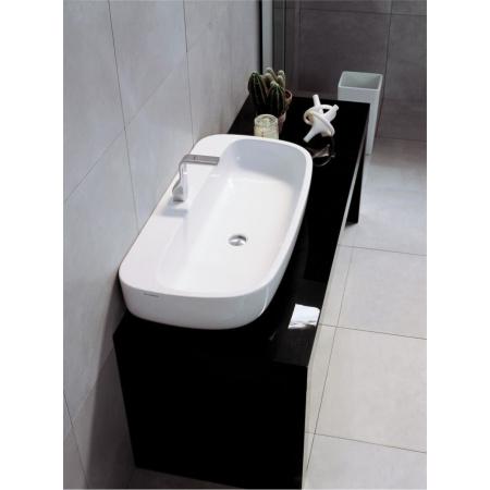 Flaminia Mono Umywalka stawiana na blat 100x48x18,5cm, biała MN100L