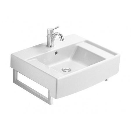 Villeroy & Boch Pure Basic Umywalka wisząca 65x50 cm biała Star White Ceramicplus 710665R2