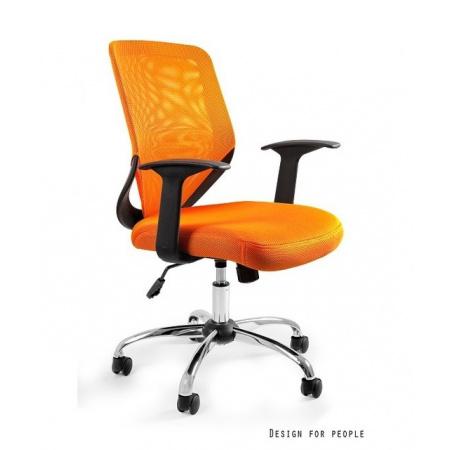 Unique Mobi Fotel biurowy, pomarańczowy W-95-5