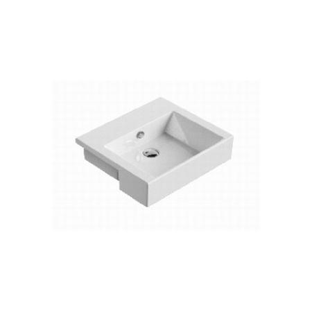 Catalano Premium Umywalka półblatowa 55x47 cm z powłoką CataGlaze, biała 1LSVP00 / LSVP