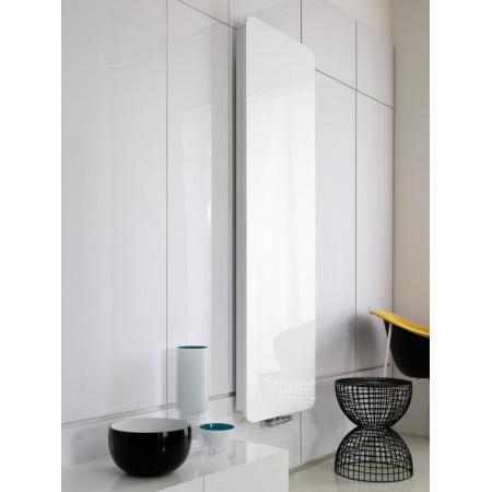 Instal Projekt Indivi New - Grzejnik 50x160 cm szkło białe INDN-50/160E34L04