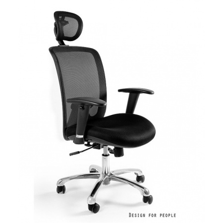 Unique Expander Fotel biurowy, czarny W-94-4