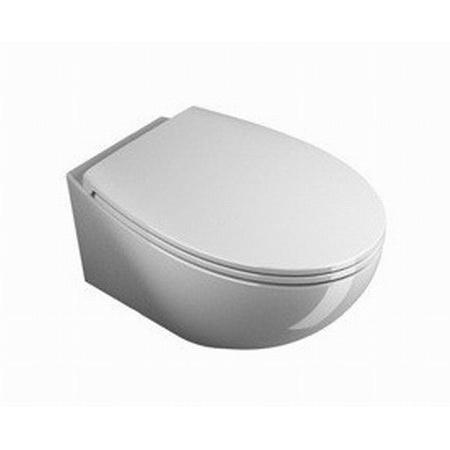 Catalano Velis Miska WC wisząca z deską wolnoopadającą, biała 1VSVL00+5V57STF00