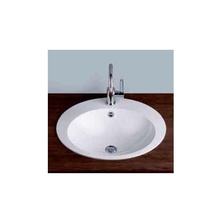 Alape umywalka emaliowana EB.O600H biała wymiary 144 x 600 x 500 nr kat. 2104090401