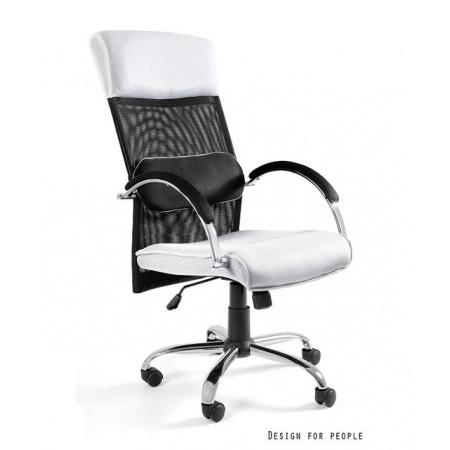 Unique Overcross Fotel biurowy, biały W-62-0