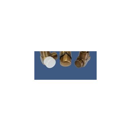 Schlosser Zestaw łazienkowy Exclusive GZ1/2 x złączka 16x2 PEX - kątowy antyczny mosiądz (601700146)