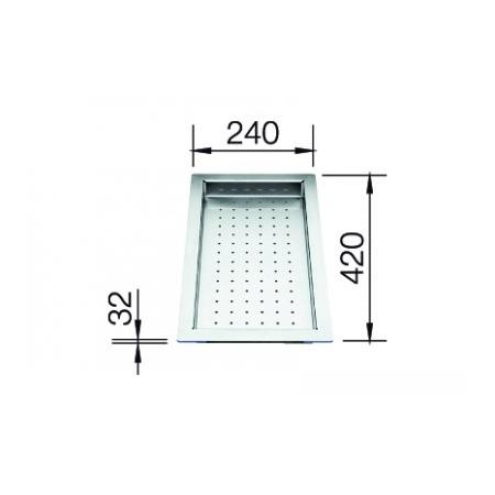 Blanco ociekacz stalowy do zlewozmywaków - IF (219650)