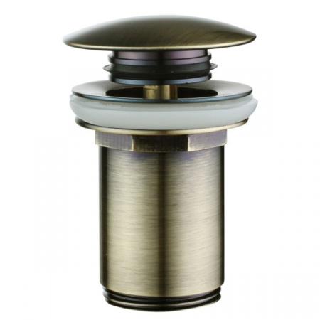 Omnires Click-Clack Korek klik-klak do syfonu umywalkowego Brąz antyczny (A706 BR)