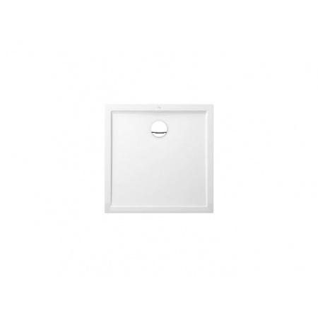 Villeroy & Boch Futurion Flat Brodzik kwadratowy - 100/100/2,5 cm Star white (DQ1000FFL1V96)