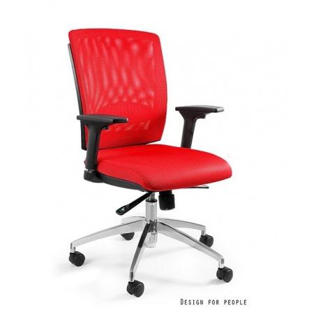 Unique Multi Fotel biurowy, czerwony X-7-2