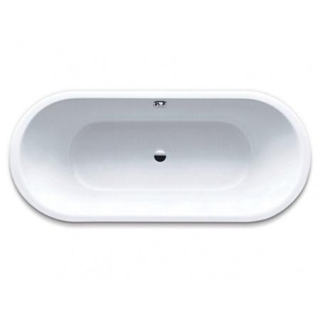 Kaldewei Classic Duo Oval 112 Wanna owalna 160x70x43 cm z powierzchnią uszlachetnioną, biała 291300013001