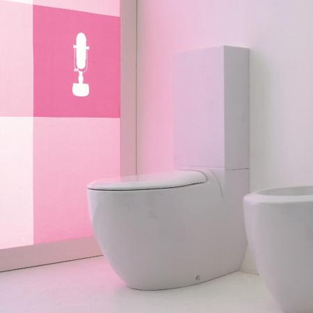 Art Ceram Blend Miska WC kompakt 36x68 cm, biała L3145 / BLV00301;00