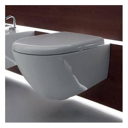 Kerasan Aquatech Deska zwykła biała 377701Quick Release