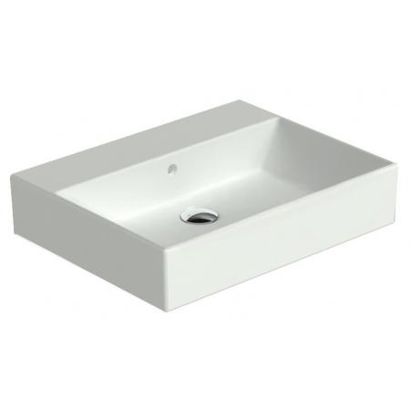 Catalano Premium Umywalka 60x47 cm bez otworu, z przelewem i z powłoką CataGlaze, biała 160VP00 / 60VP