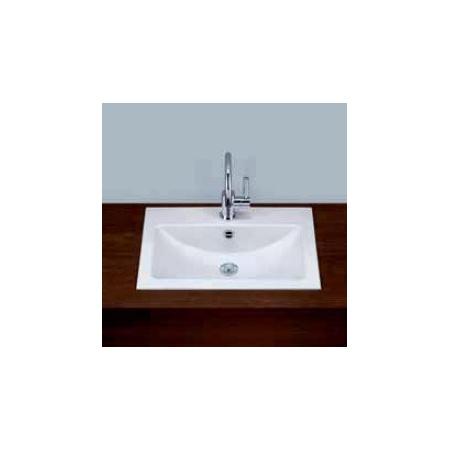 Alape umywalka emaliowana EB.R585H biała wymiary 135 x 585 x 405 nr kat. 2202100000