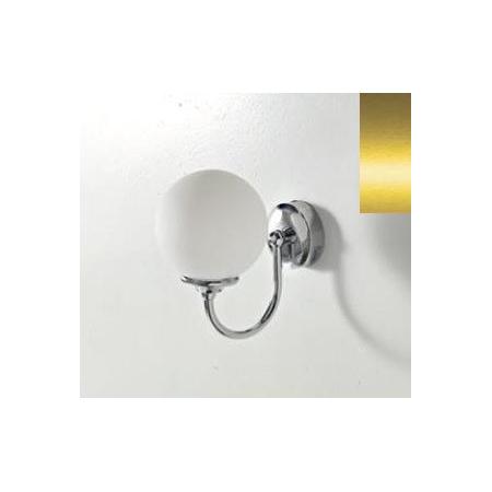 Art Ceram Victoria lampa ścienna Sfera 18x22x24 cm, złota HEA036;73