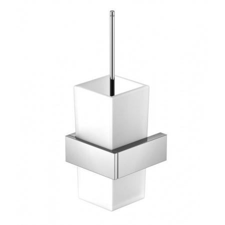 Steinberg 460 Szczotka WC wisząca, chrom/biała 460 2903