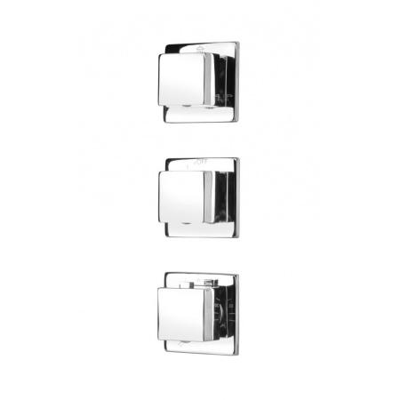 Deante Multi-System Bateria wannowo-prysznicowa podtynkowa termostatyczna, chrom NAC09AT