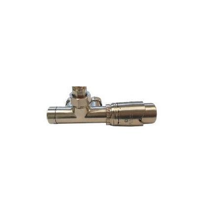 Schlosser Zestaw - przyłącze jednootworowe 1/2xM22x1,5 z rurką kolektora, proste stal (602100076)