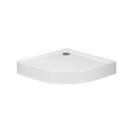 Huppe Xerano Brodzik półokrągły 90x90x12 cm ze zintegrowaną obudową, biały 840201.055
