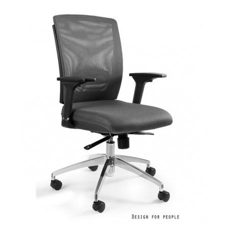 Unique Multi Fotel biurowy, szary X-7-8