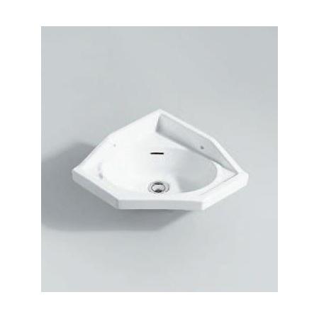 Flaminia Normale Umywalka narożna 36x36x21cm, biała 85
