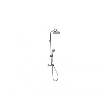 Tres Lex-Tres Zestaw prysznicowy natynkowy chrom 1.81.191