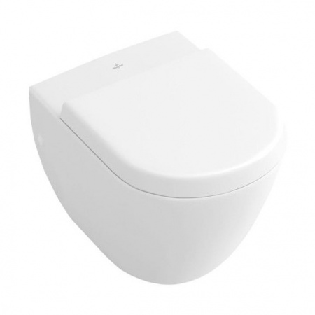 Villeroy & Boch Subway Toaleta WC podwieszana 35,5x48 cm Compact krótka, biały Weiss Alpin 66041001