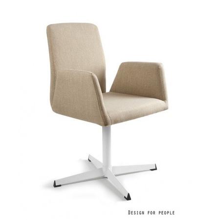 Unique Brava Fotel biurowy, beżowy 2-155A-1
