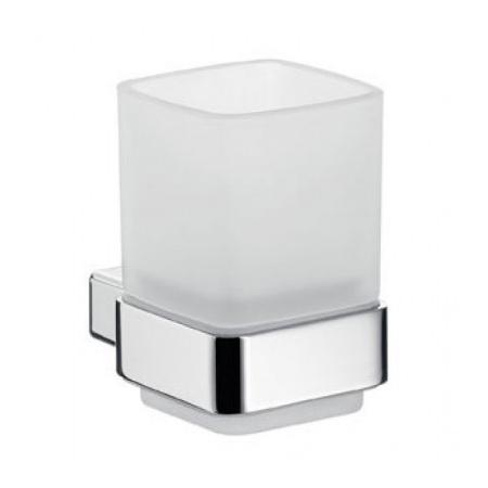 Emco Loft Kubek szklany z uchwytem 7,1x9,9x10 cm, chrom 052000100