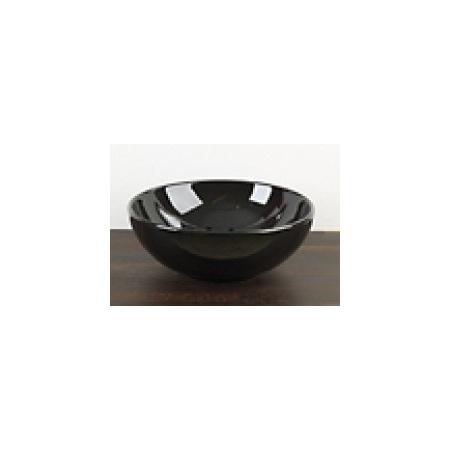 Scarabeo Thin-Line Umywalka nablatowa 39,5x39,5x15 cm, czarna 8009-35