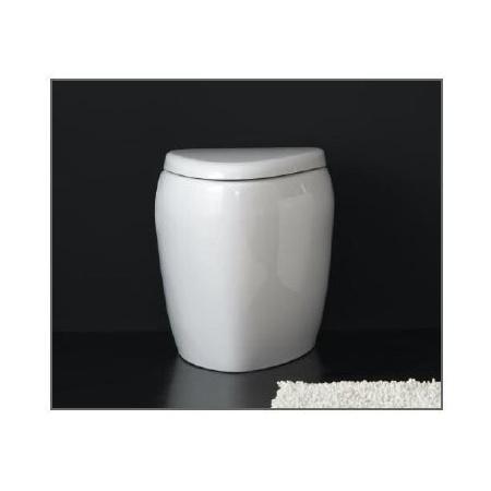 Scarabeo Moai Muszla klozetowa miska WC stojąca 55x41x41 cm, biała 8606