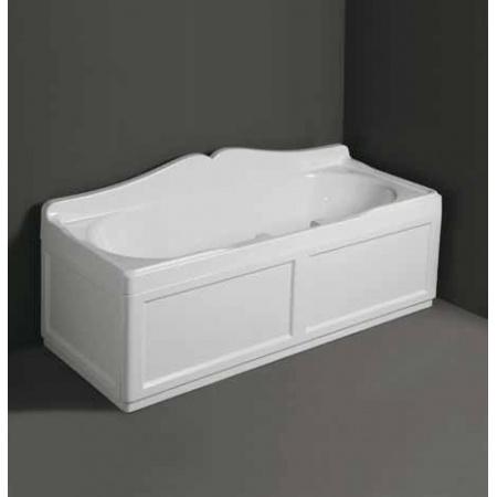 SIMAS panel boczny do wanny biały PLRB17
