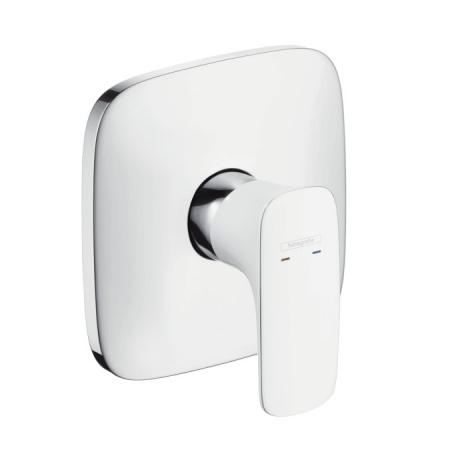 Hansgrohe PuraVida Bateria wannowo-prysznicowa podtynkowa biała/chrom 15665400