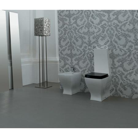 Art Ceram Jazz Kompakt WC czarny JZ05C+JZ06C / JZV00303;00+JZC00103;00