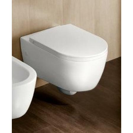 Hatria Fusion Miska WC wisząca, biała YXV9
