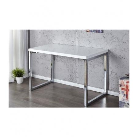 Home Design Ariel White Biurko 120x60 cm, białe/chrom Z20999