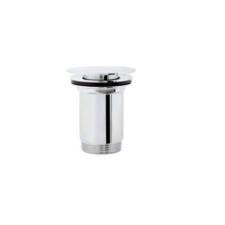 Omnires Click-Clack Korek klik-klak do syfonu umywalkowego, płaski Chrom (P706)