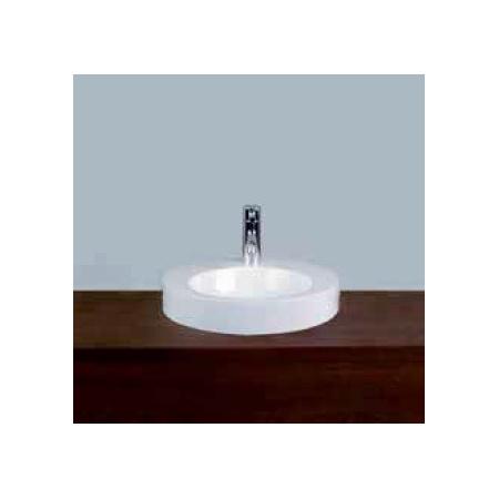 Alape AB.K400H.2, 3HL36 Umywalka nablatowa 40 cm emaliowana biała z powłoką 3004006000