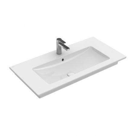 Villeroy & Boch Venticello Umywalka meblowa/wisząca 80x50 cm z przelewem, biała Weiss Alpin 41048L01
